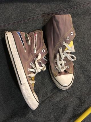 women's grey sneakers size 7.5