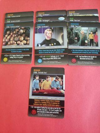 10 Star Trek The Card Game Original Series Lot #3