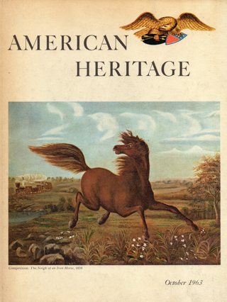 Vintage American Heritage Hard Covered Book: October 1963