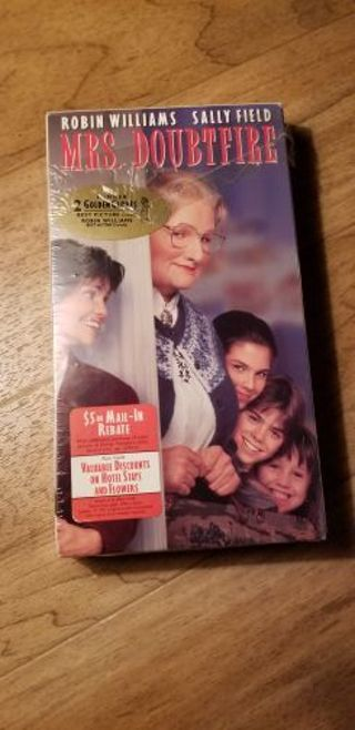 Mrs Doubtfire VHS