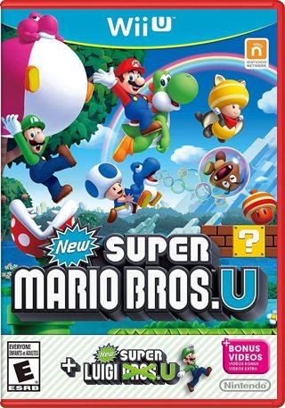 Nintendo Wii U - Super Mario Bros. U + New Super Luigi U