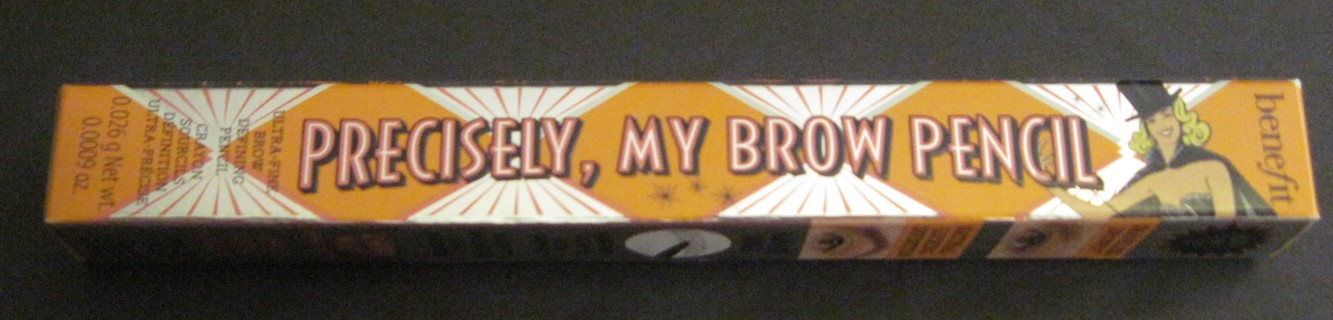NEW Benefit Precisely, My Brow Pencil Neutral Medium Brown