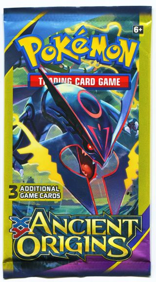 1 NEW Pokemon Trading Card Game XY Ancient Origins Sealed Booster Pack Cards