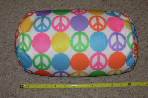 Fantastic Free New Neck Roll Bean Bag Pillow Peace Signs Symbols Machost Co Dining Chair Design Ideas Machostcouk