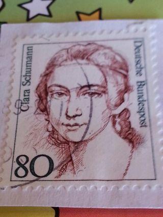 Clara Schumann German Stamp # 23