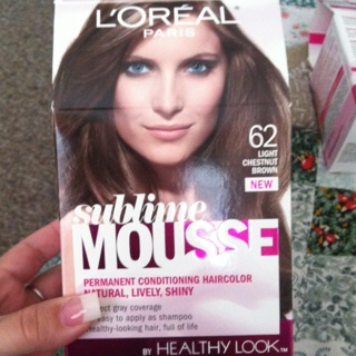 L Oreal Sublime Mousse Haircolor