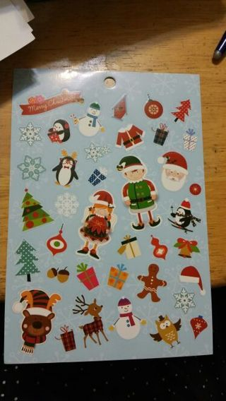 Christmas Stickers # 273