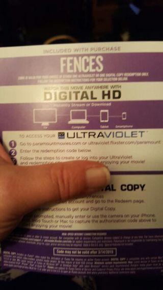 Fences. DIGITAL HD