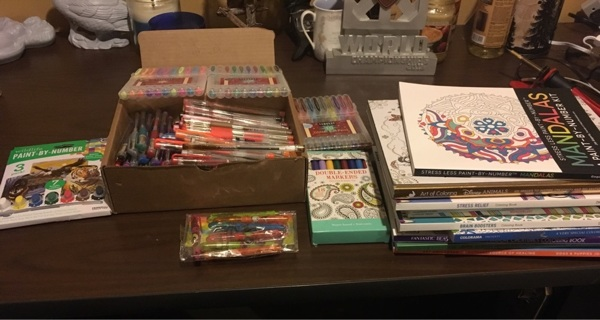 Huge Adult coloring lot!!!!
