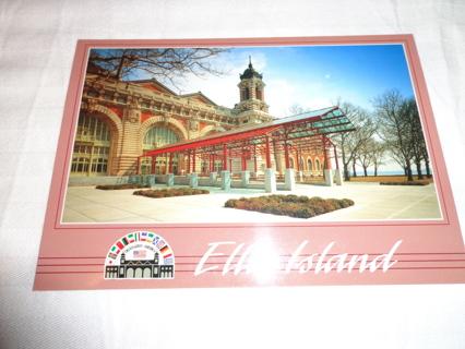 Ellis Island Post Card