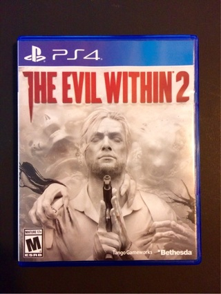 PS4 The Evil Within 2 (Playstation 4) MINT/LIKE NEW