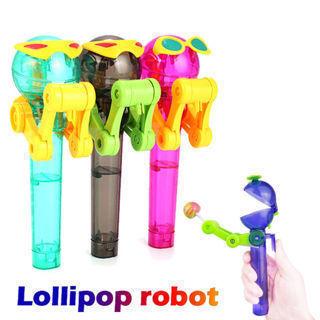 Toys For Kids Robot Lollipop Holder Decompression Fun Toys Lollipop Robot Gift.