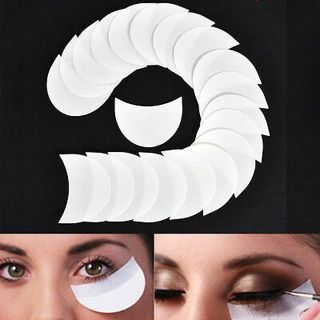 20PCS Eyelash Eye Shadow Shields Patches Under Eye Stickers Pad Makeup Supplies