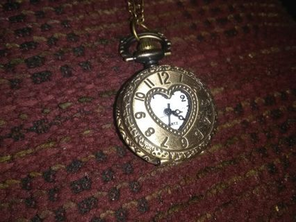 Small vintage pocket watch