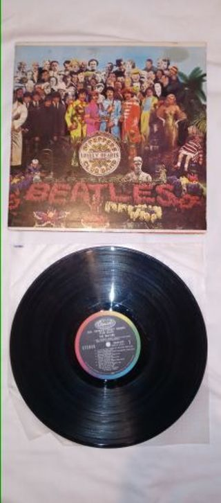 ×××Beatles st peppers lonely hearts club band record×××