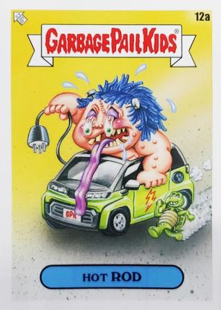 2020 GARBAGE PAIL KIDS 35th ANNIVERSARY HOT ROD CARD 12a