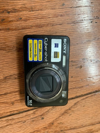 Sony Cyber-shot DSC-W170- used camera + bag+ San Disc card+charger+ free ear phones