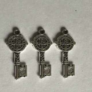 New 3 Double Sided Key Charms