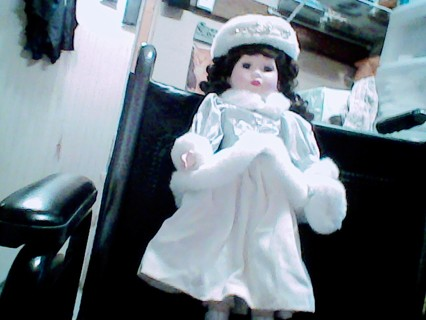 Winter Wear Porcelain Collector Doll