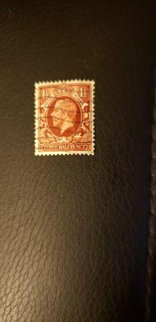 GB stamp. Used