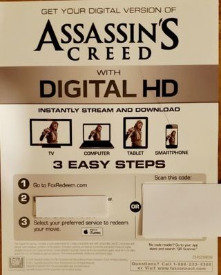Assassin's Creed Digital Copy 2