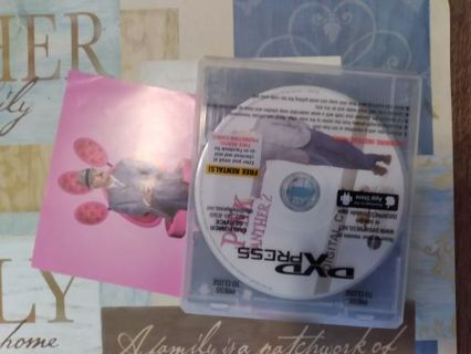 The pink panther 2 digital download disc