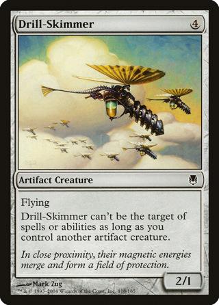 (4) MTG - Drill-Skimmer - Darksteel - MINT - magic the gathering