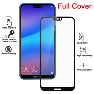 Full Cover Tempered Glass For Huawei mate 20 lite case For huawei P20 pro Screen Protector P20Lite