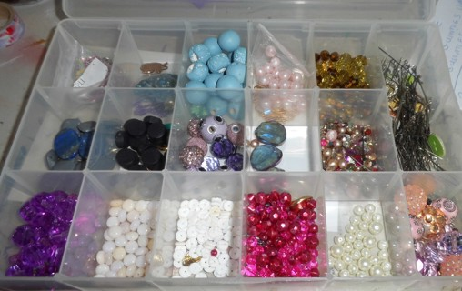 One Container full of Beads