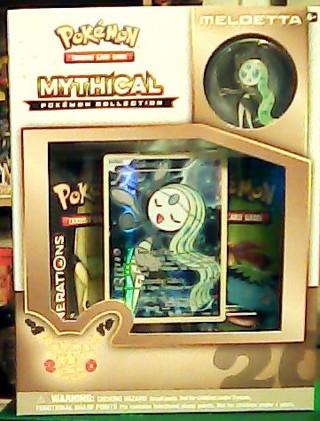 POKEMON TCG: Meloetta Mythical Pokemon Collection 20TH ANNIVERSARY 2016