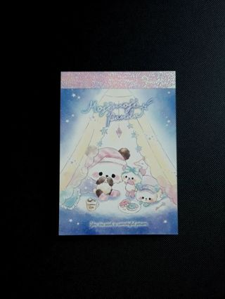 "Crux '2019'~""MojiMoji Panda"" Mini-Memo Pad **Newly Released!!** ☆Kawaii Bonus☆"