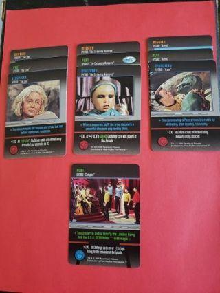 10 Star Trek the Card Game Original Series Lot #2