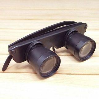 3X Magnifier Glasses Style Outdoor Fishing Optics Binoculars Hiking Concert