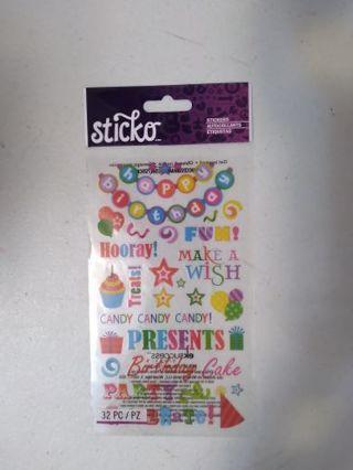 "❤❤❤ "" Birthday "" Stickers ❤❤❤"