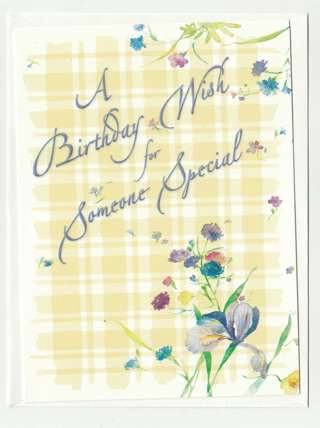 Birthday Card Unused With Envelope For Someone Special