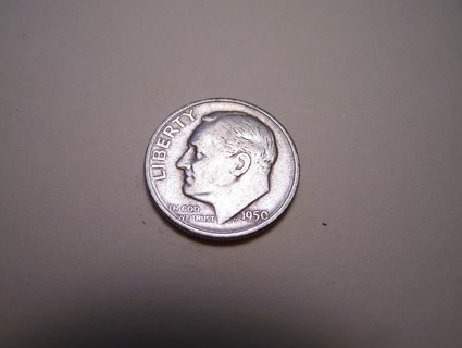 Silver 1950-S Roosevelt Dime