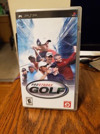 Pro Stroke Golf World Tour 2007 PSP