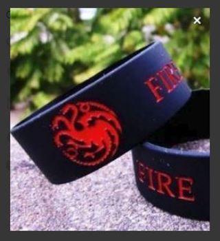 NEW GAME OF THRONES Wristband Bracelet TV Show Sereis Fan Jewelry