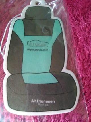 Car Air Freshener - Black Ice