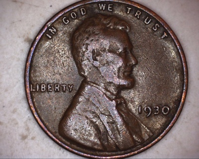 1930 lincoln wheat penny