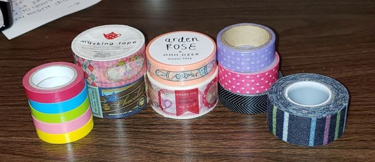 Washi Tape Lot!!