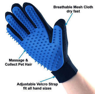 Magic Cleaning Brush Glove Rope for Pet Dog&Cat Massage Grooming