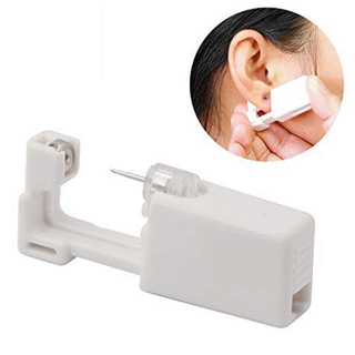 ✿Fast Delivery✿ Professional Steel Ear Nose Navel Body Piercing Gun 1pcs