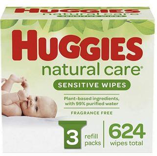 Huggies Natural Care Sensitive Baby Wipes