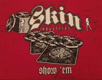 1 Skin Industries Shirt Motocross Dirtbike Freestyle Tee FREE SHIPPING