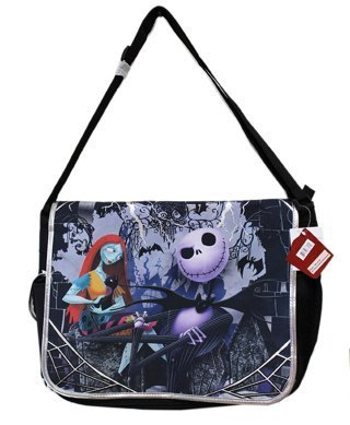 1 NEW Disney Tim Burton's the Nightmare Before Christmas Large Messenger Bag