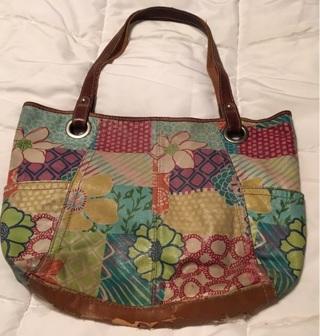 Handbag By Fossil