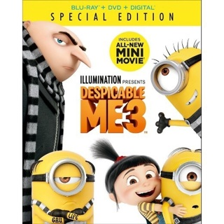 Despicable Me 3 Digital Code plus free gift!