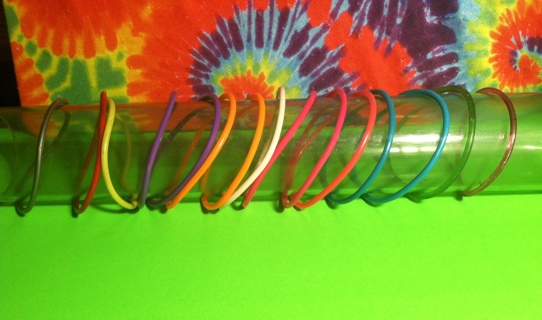 **~ 90s style jelly plastic bracelets 4 bracelets of your choice ~**