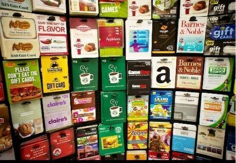 $5 gift card your choice